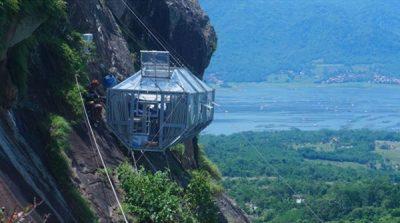 hotel-gantung-400x223 Liburan Dengan Tempat Menantang, Hotel Gantung Purwakarta di Tebing Gunung Parang